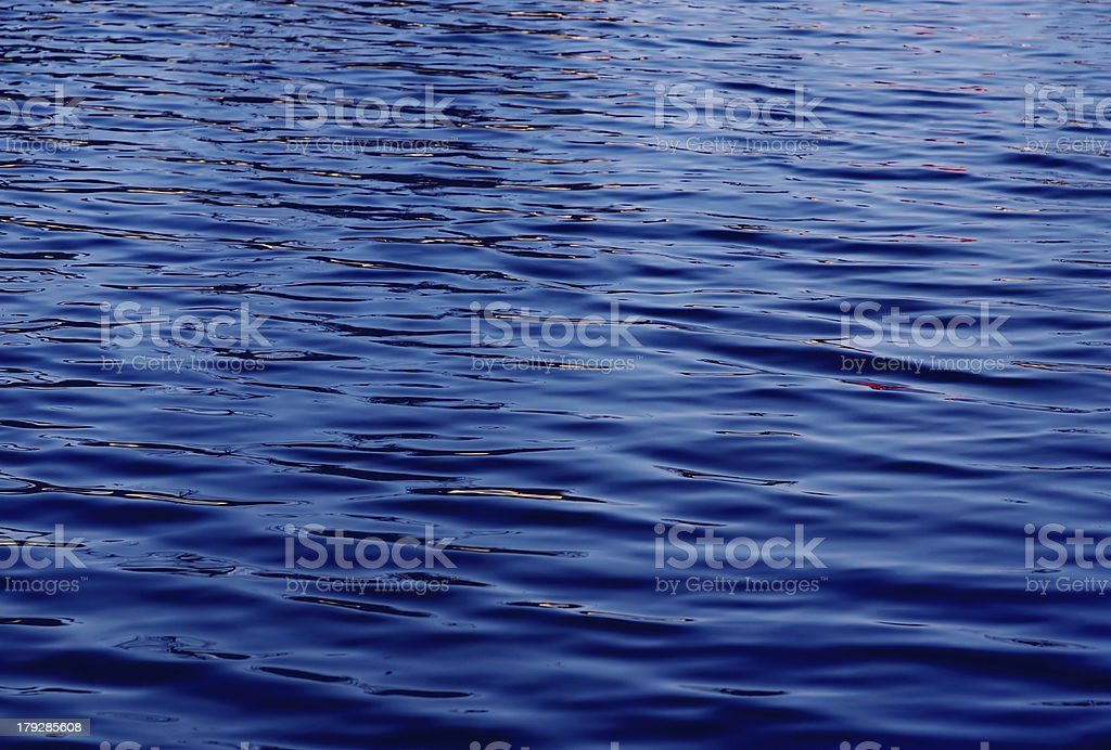 Water waves effects royalty-free stock photo