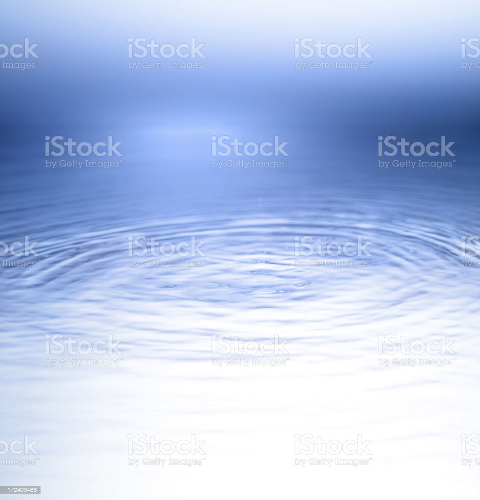 Water wawes royalty-free stock photo