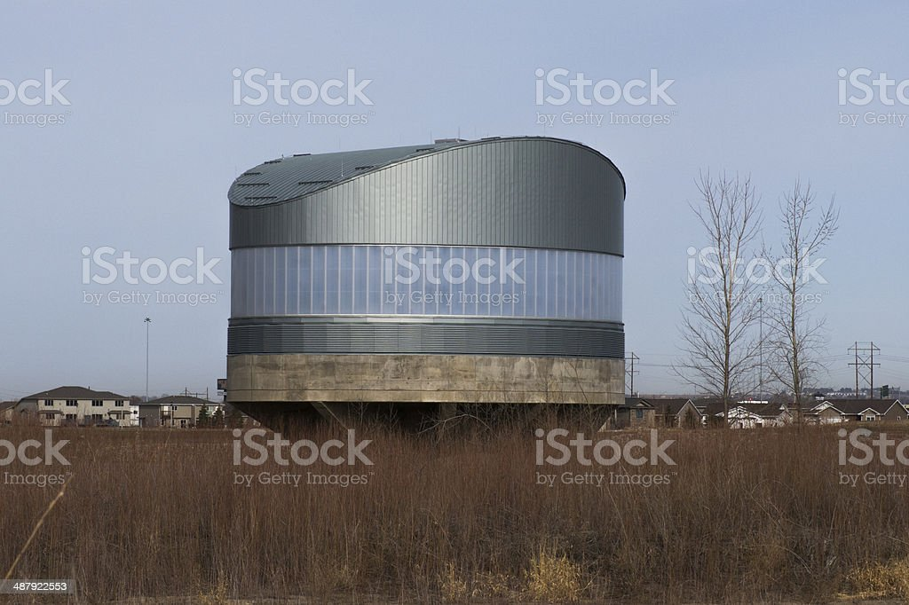 Water Well House stock photo