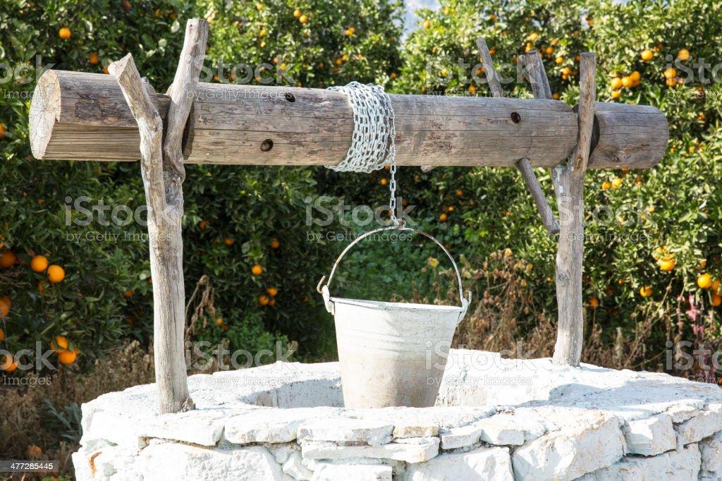 Water well stock photo