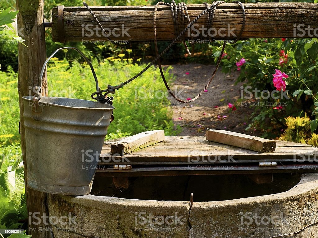 water well stock photo