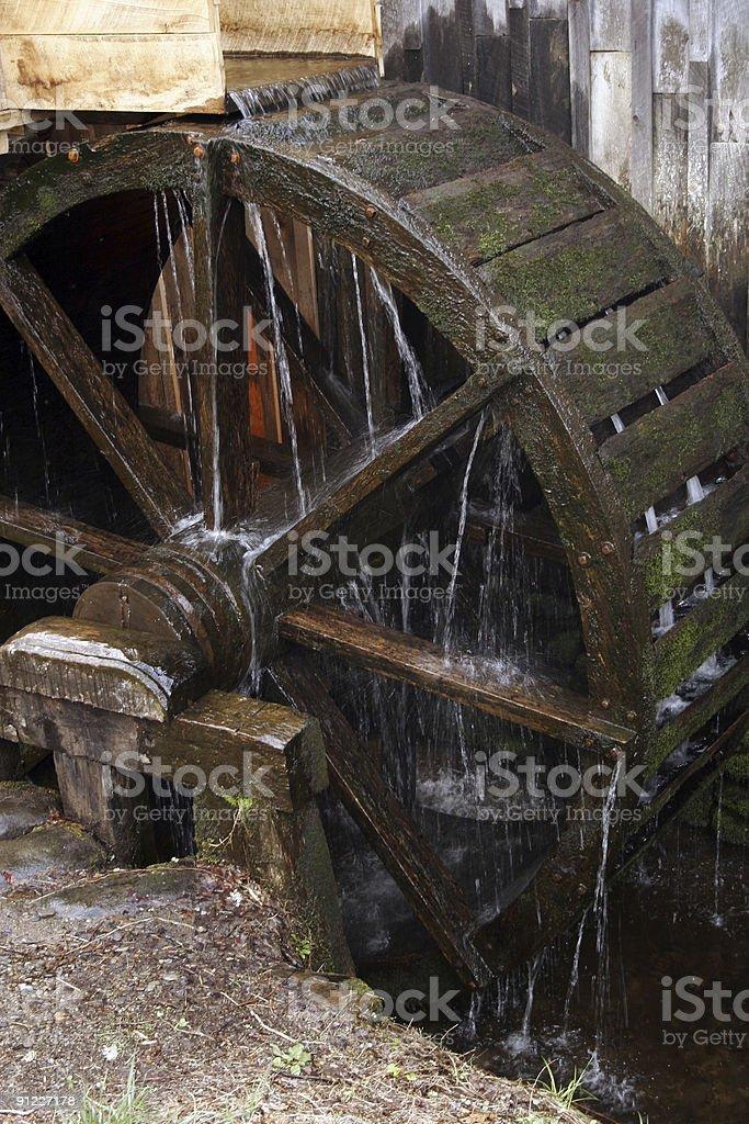 Water Wheel Close Up royalty-free stock photo