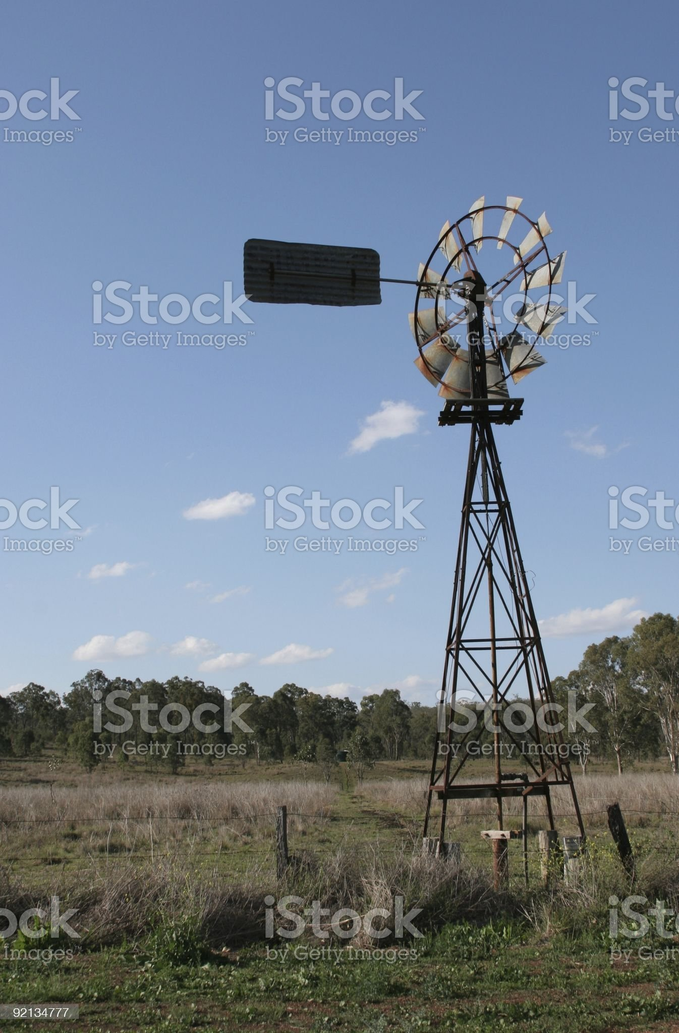 Water Wind Mill royalty-free stock photo