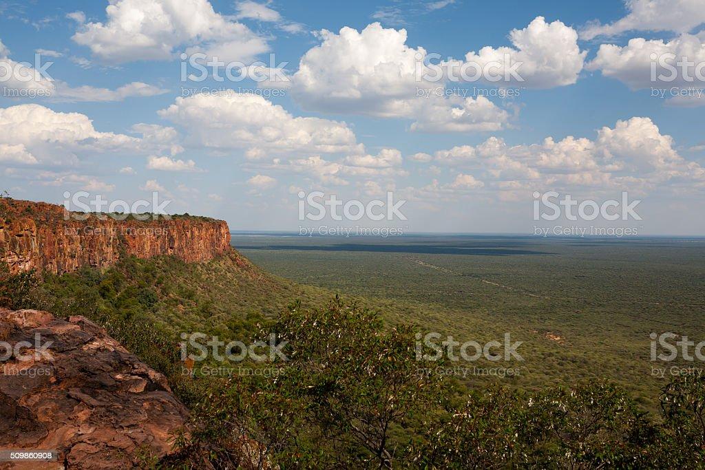 Waterberg plateau stock photo