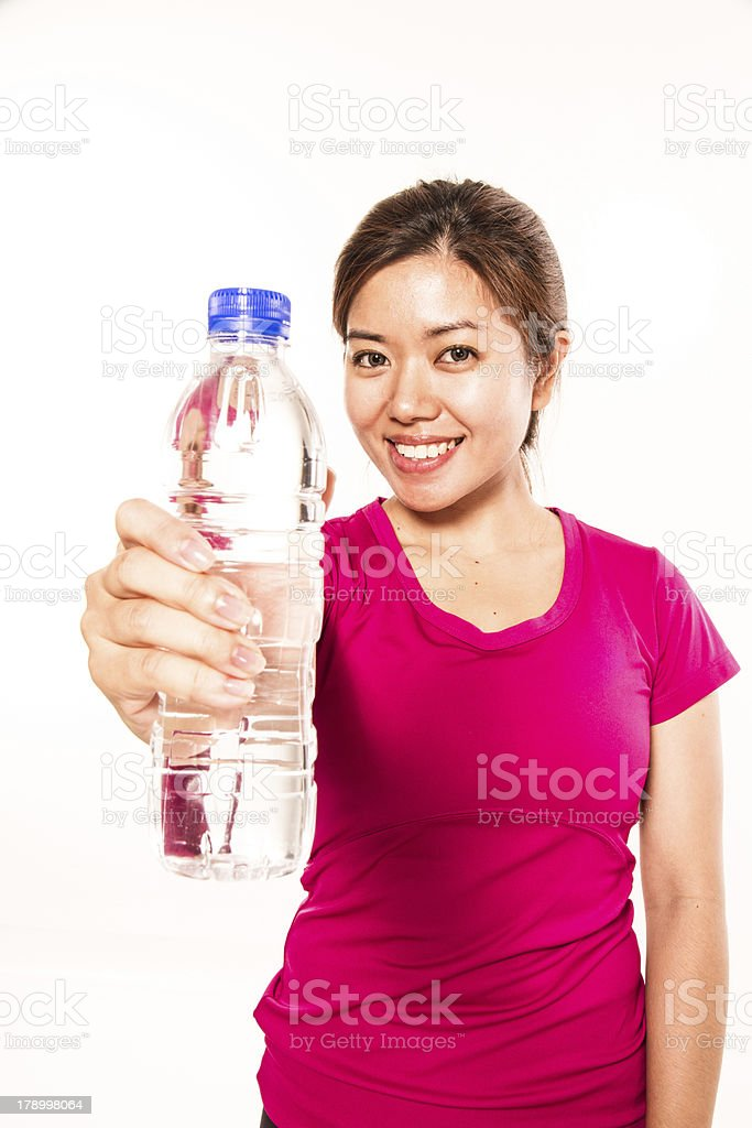 Waterbottle royalty-free stock photo