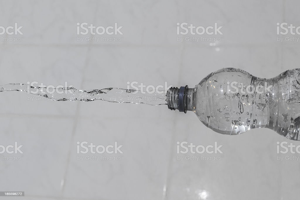 Waterbottle stock photo