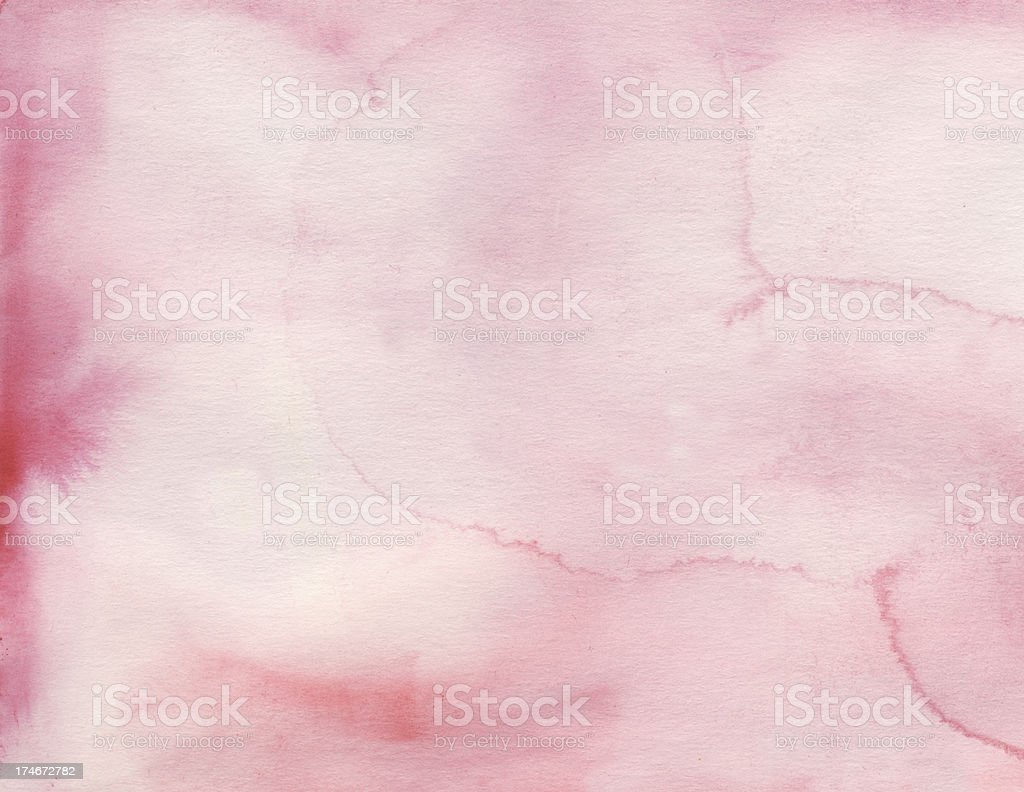 Watercolor background painting royalty-free stock photo