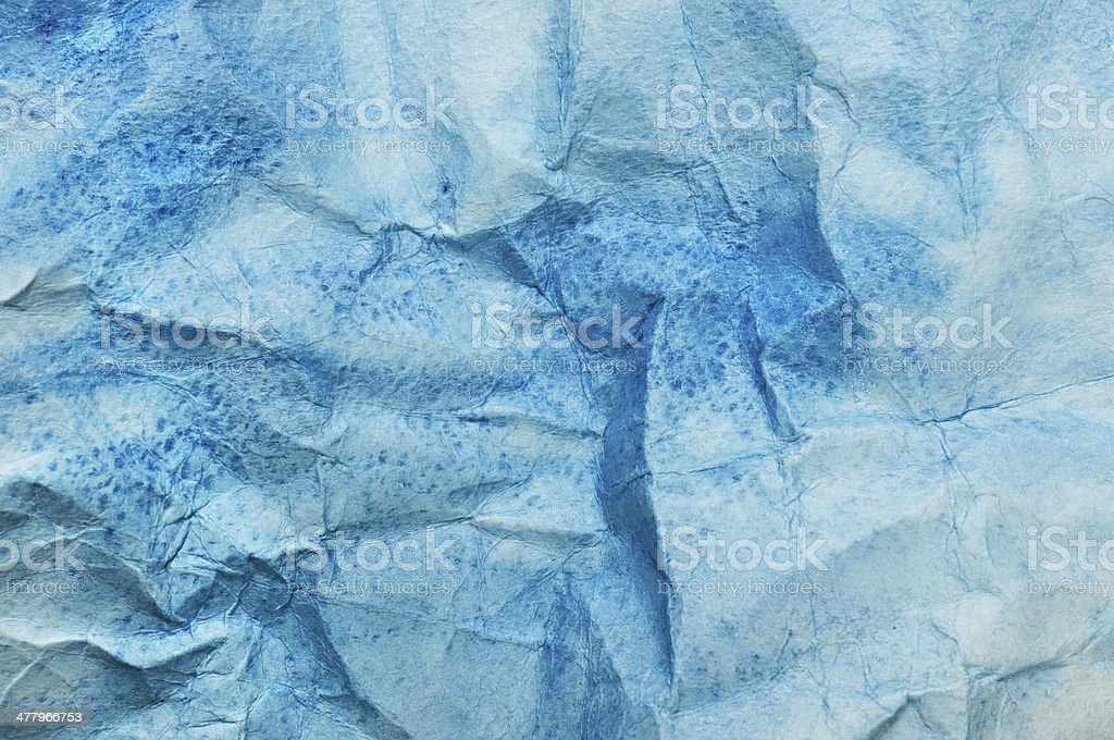 Watercolor crumpled  texture stock photo