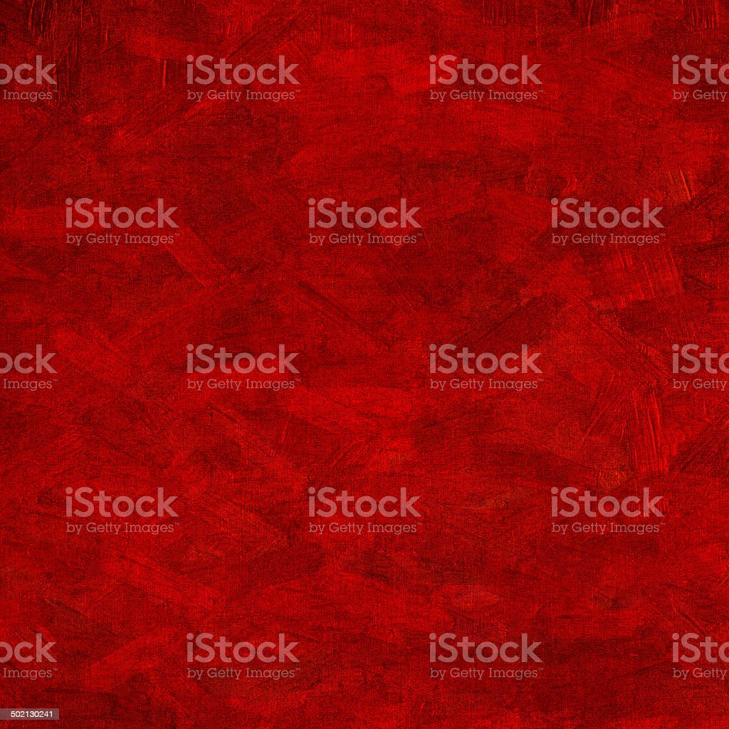 Watercolor, grunge background texture in red stock photo