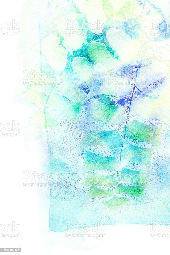 Watercolor illustration. stock photo