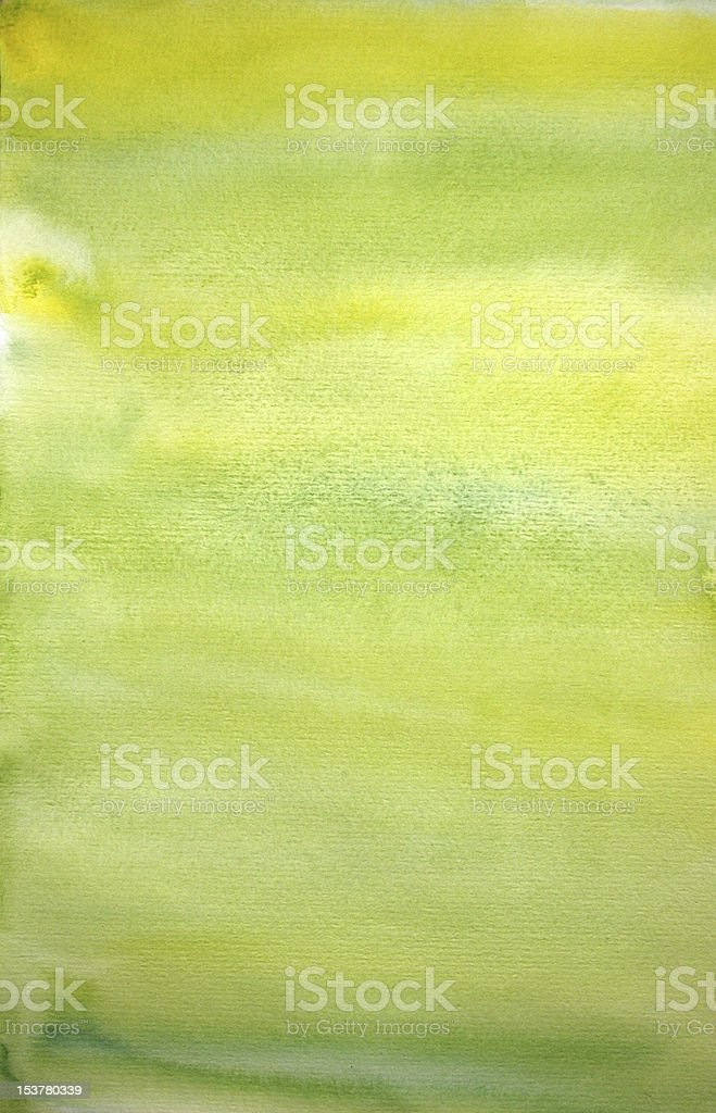 Watercolor lemon hand painted art background for scrapbooking royalty-free stock photo