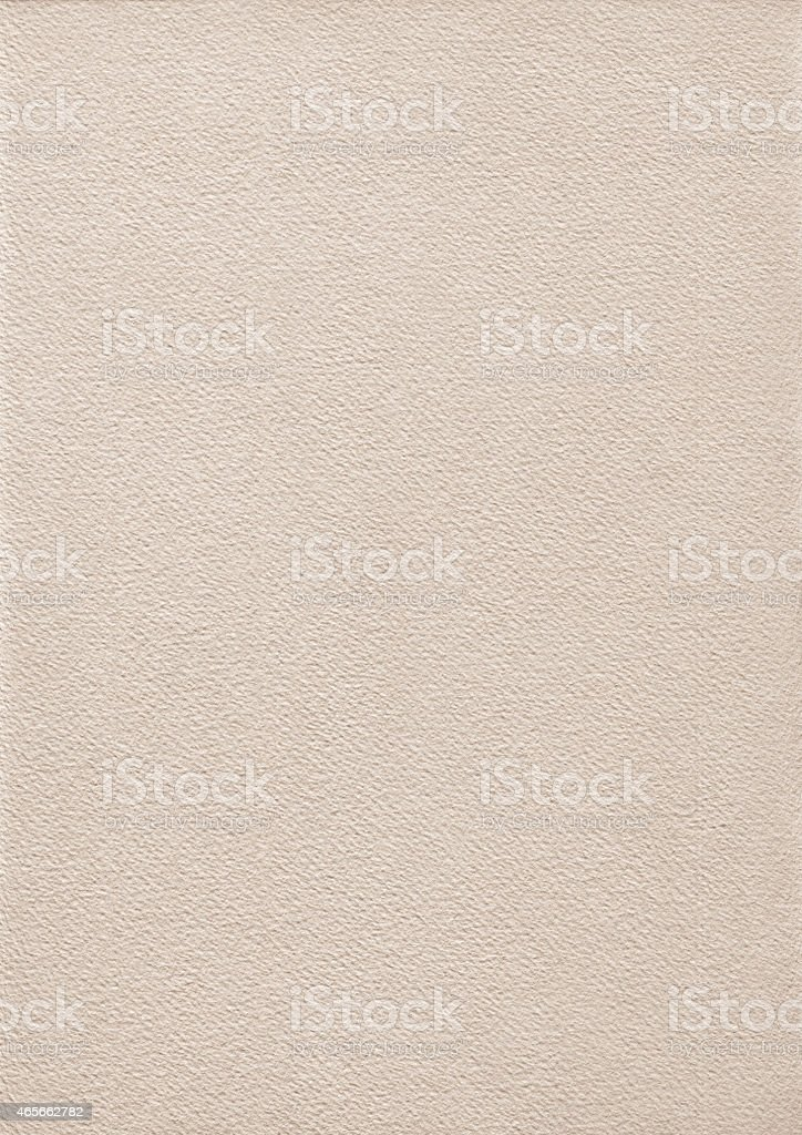 Watercolor Paper Coarse Beige Grunge Texture stock photo
