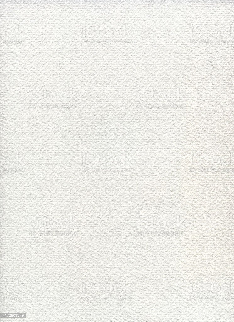 Watercolor Paper Texture XXXL royalty-free stock photo