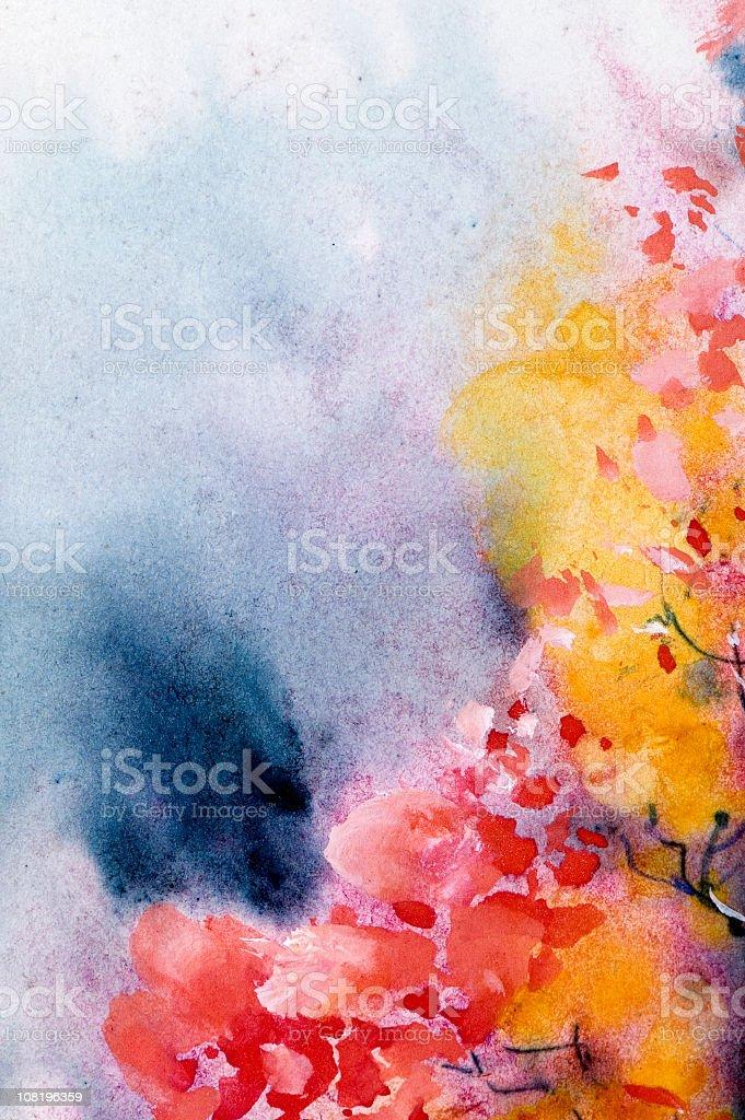 Watercolor royalty-free stock photo