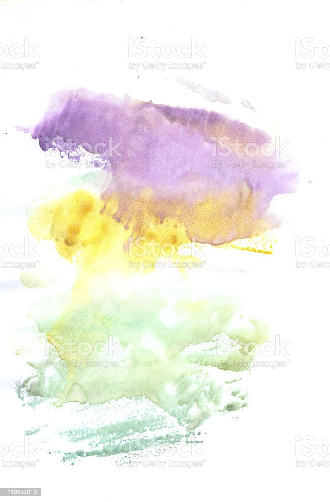 Watercolors royalty-free stock photo