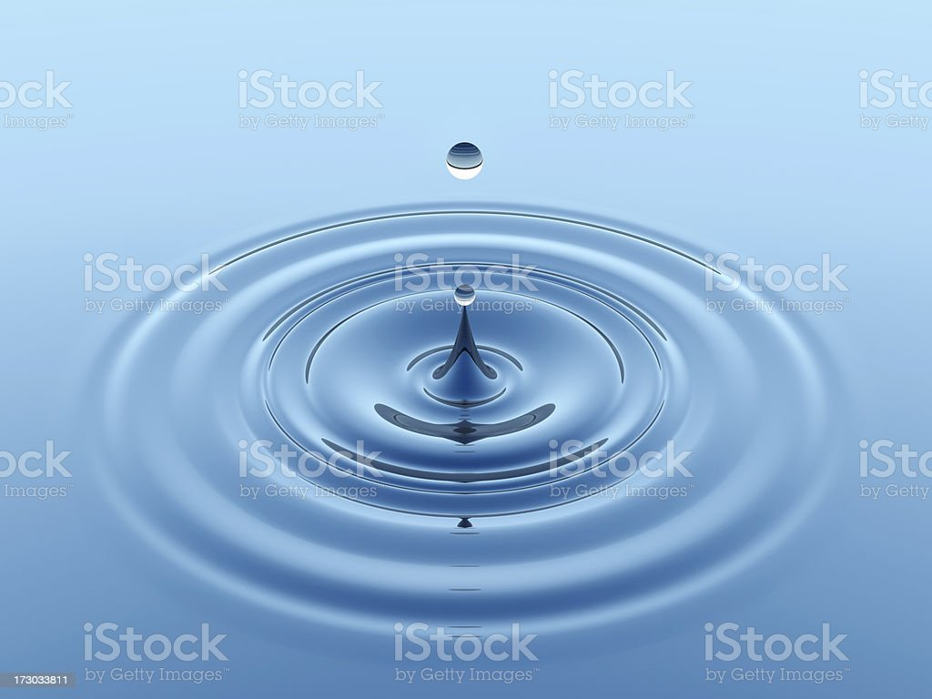 waterdrop stock photo
