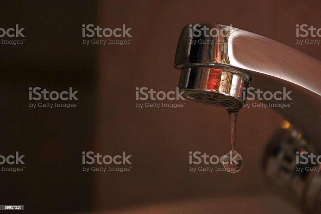 Waterdrop royalty-free stock photo