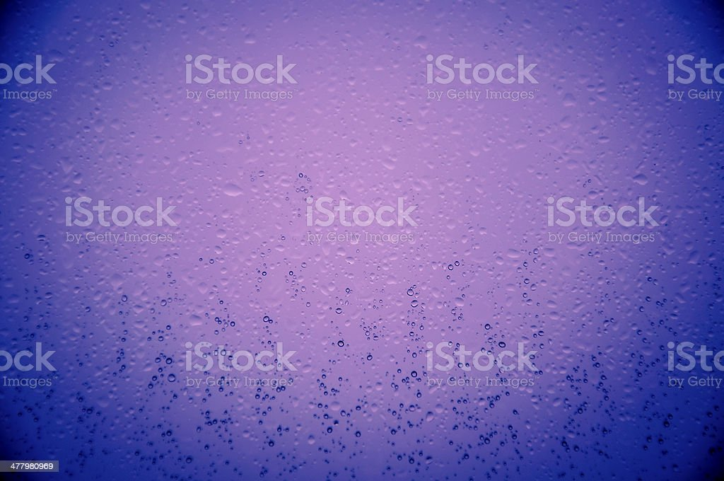 Waterdrops on window royalty-free stock photo