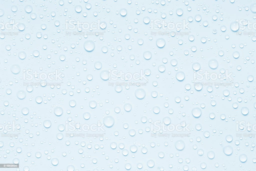 water-drops royalty-free stock photo