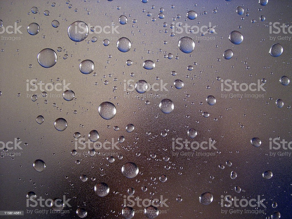 Waterdrops, Transparent royalty-free stock photo