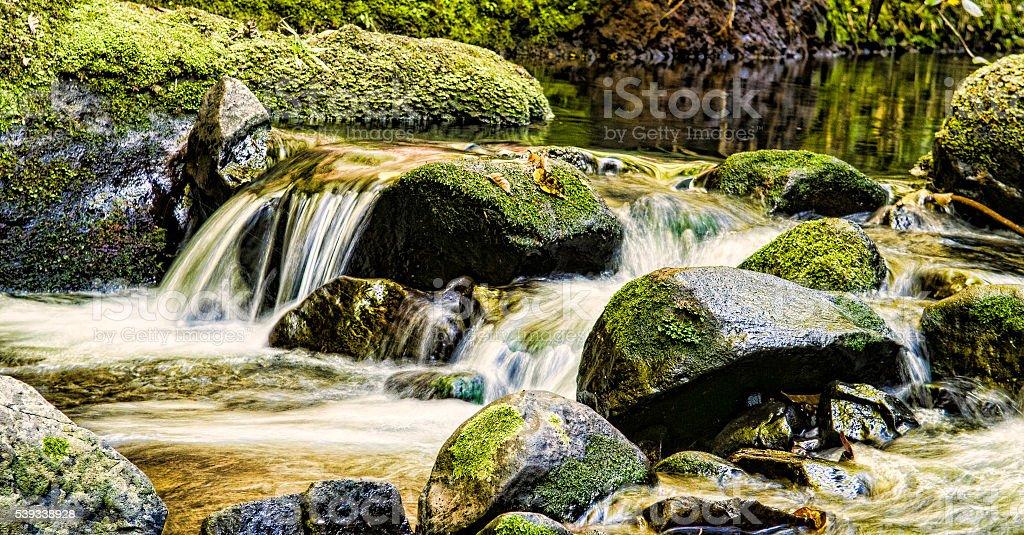 Waterfal stock photo