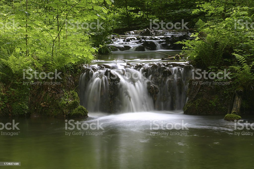 Waterfall 1 royalty-free stock photo