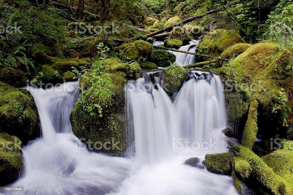 Waterfall 2 royalty-free stock photo