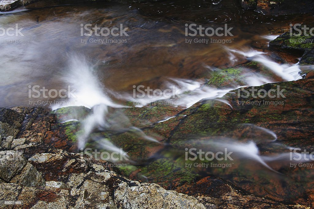 Waterfall Abstract 1 stock photo