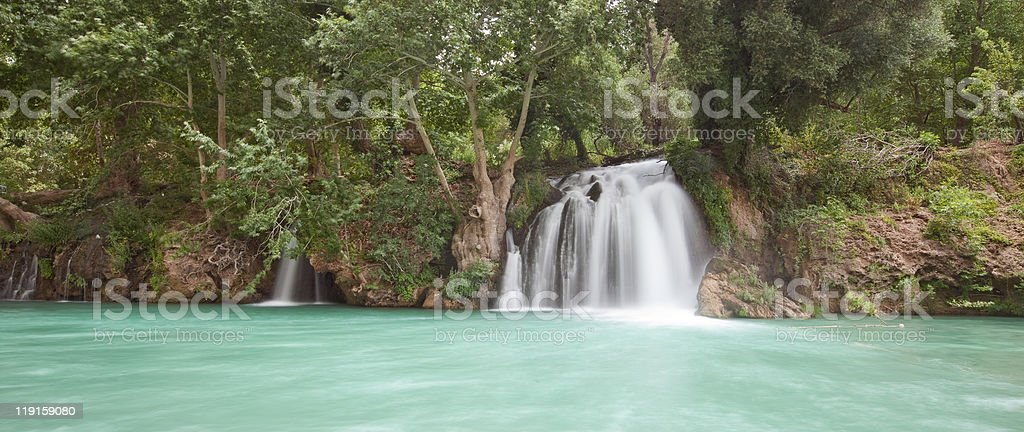 Waterfall at Nadire royalty-free stock photo
