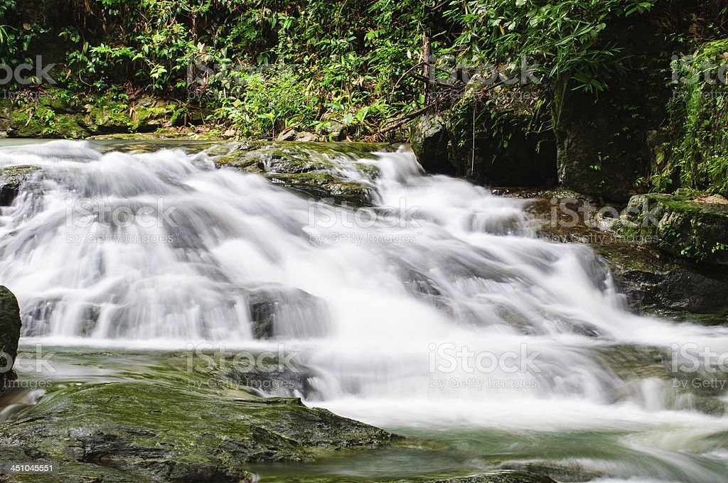 Waterfall at sarika royalty-free stock photo