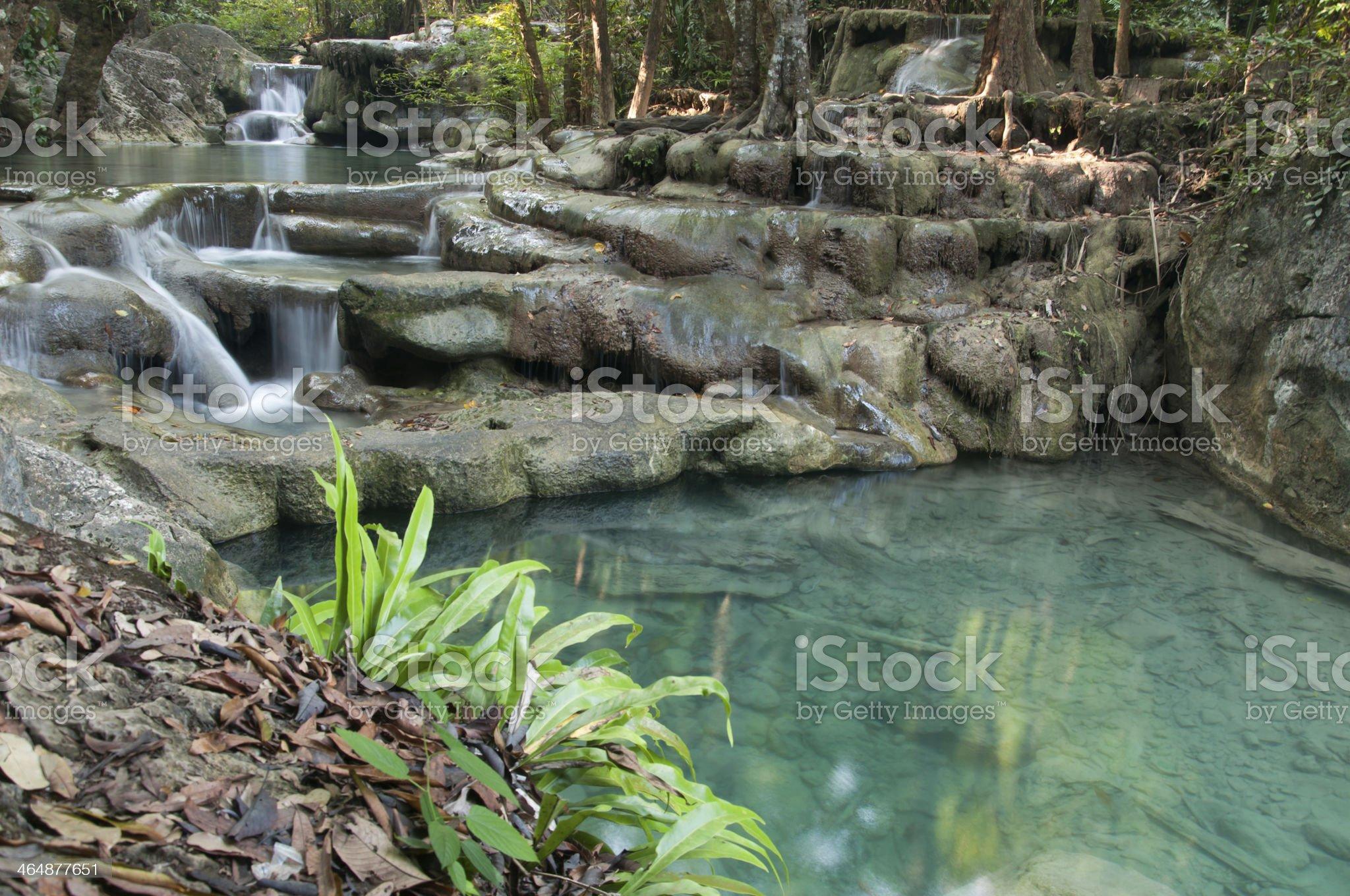 Waterfall beautiful royalty-free stock photo