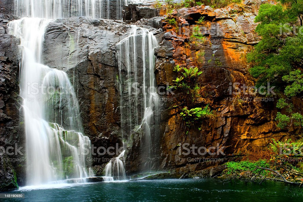 Waterfall Beauty stock photo