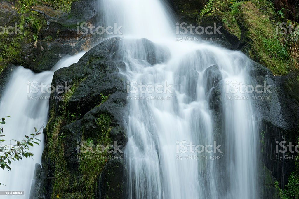 Waterfall Black Forest stock photo