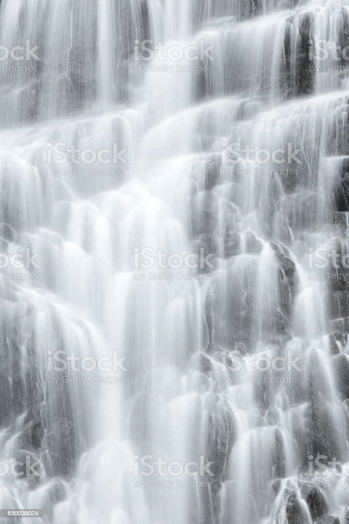 Waterfall Cataracts Flowing Cascading Water stock photo