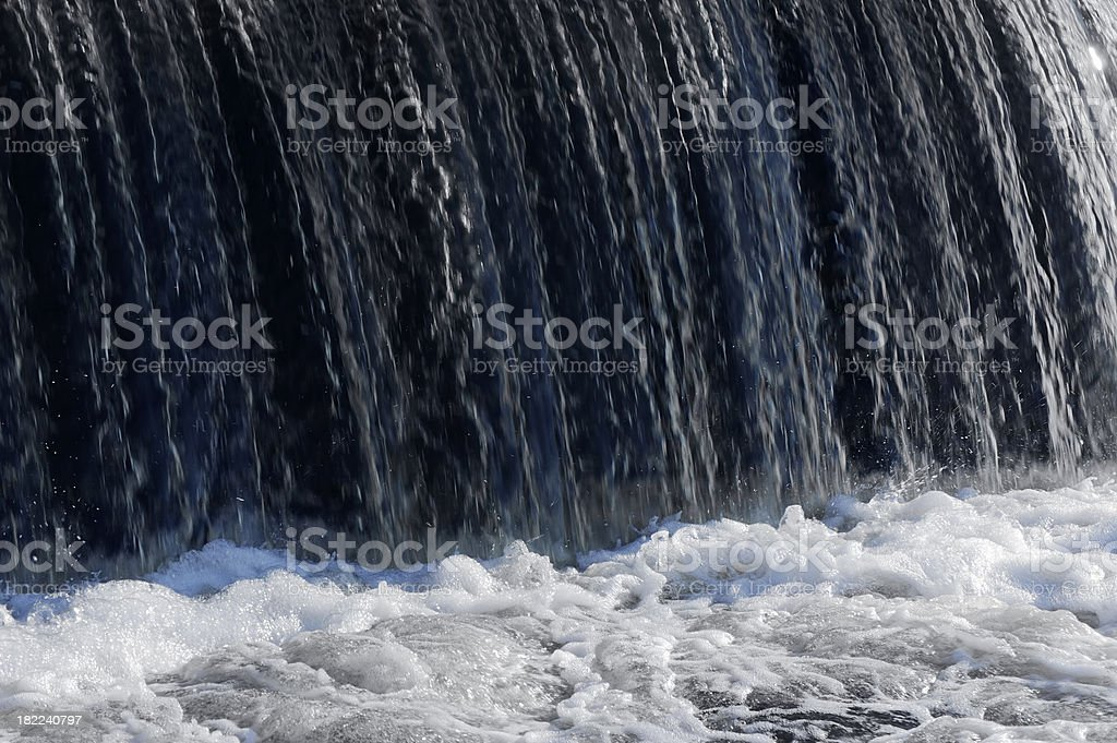 waterfall close up royalty-free stock photo