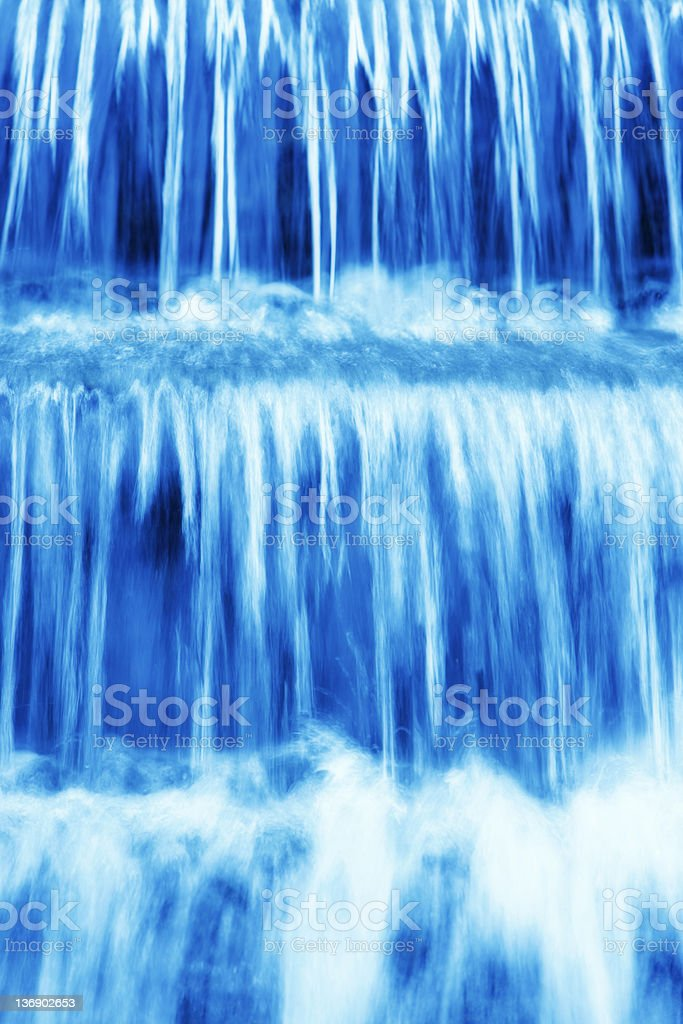 XL waterfall close-up royalty-free stock photo