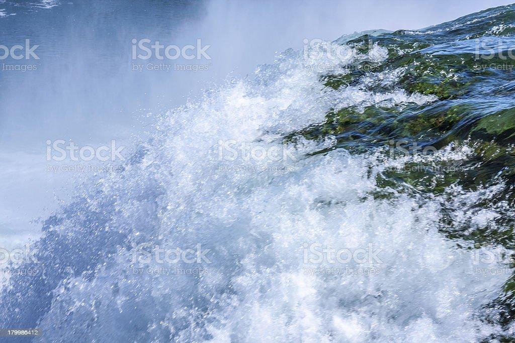 Waterfall Closeup royalty-free stock photo