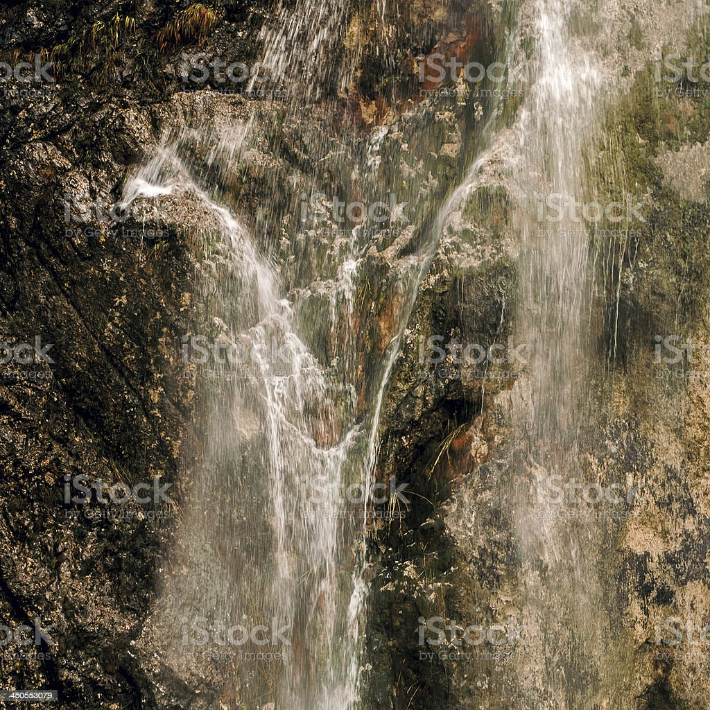 Waterfall detail royalty-free stock photo