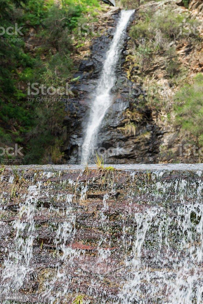Waterfall Gully stock photo
