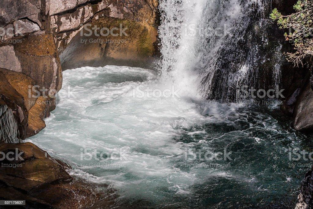 Waterfall II stock photo