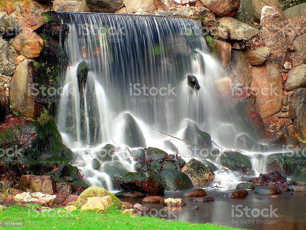 Waterfall in Arnhem royalty-free stock photo