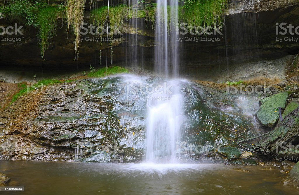 Waterfall in Escarpment royalty-free stock photo