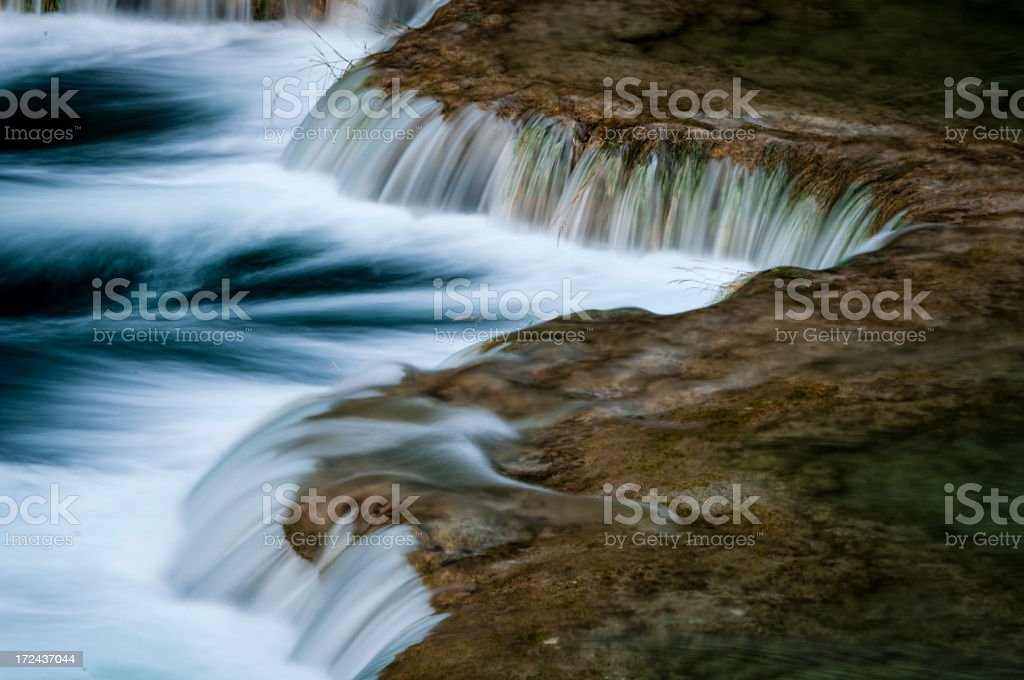 Waterfall in Krka National Park royalty-free stock photo
