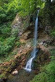 waterfall in Lillafured park