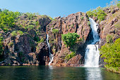 A waterfall in Litchfield National Park in Australia