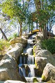 Waterfall in the Maria Luisa park, Seville