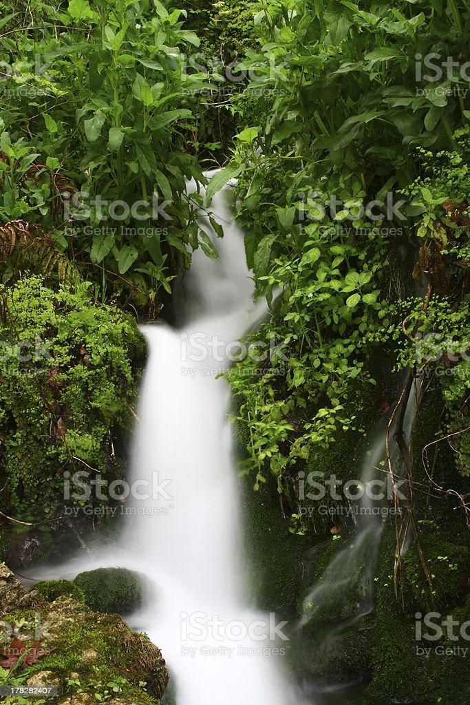 waterfall in Turkey stock photo