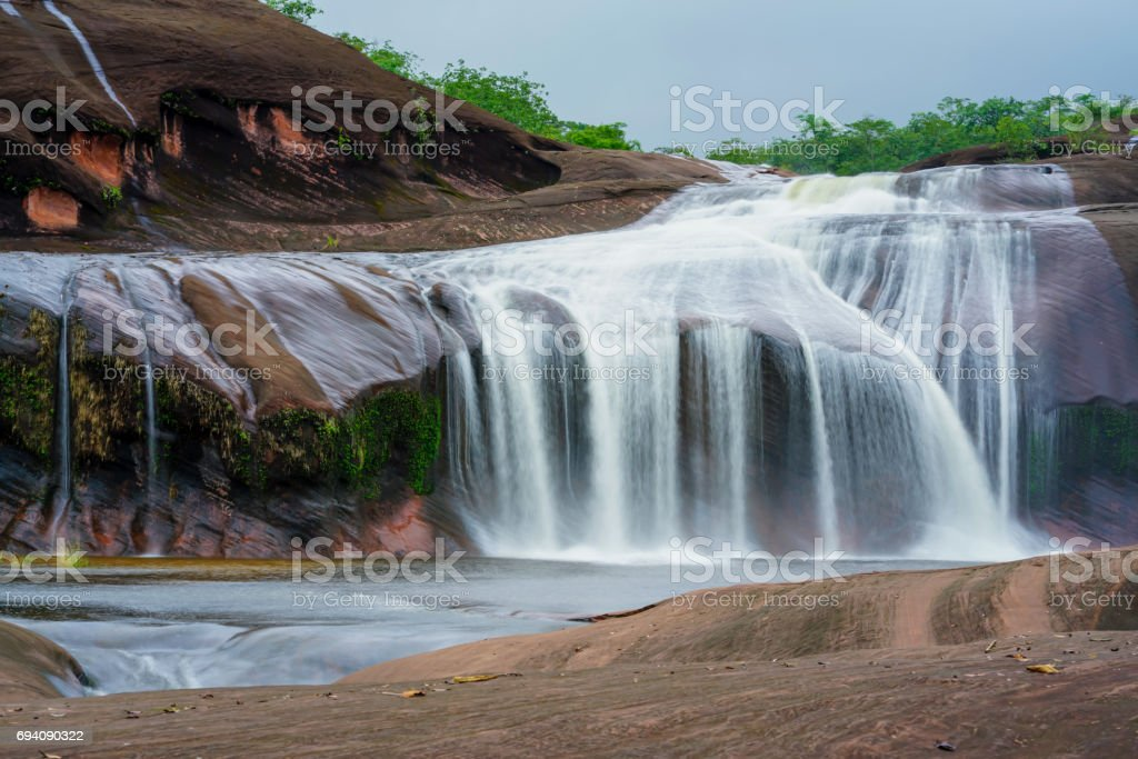 Waterfall landscape. Waterfall in thailand