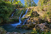 waterfall Navacelles in southern France