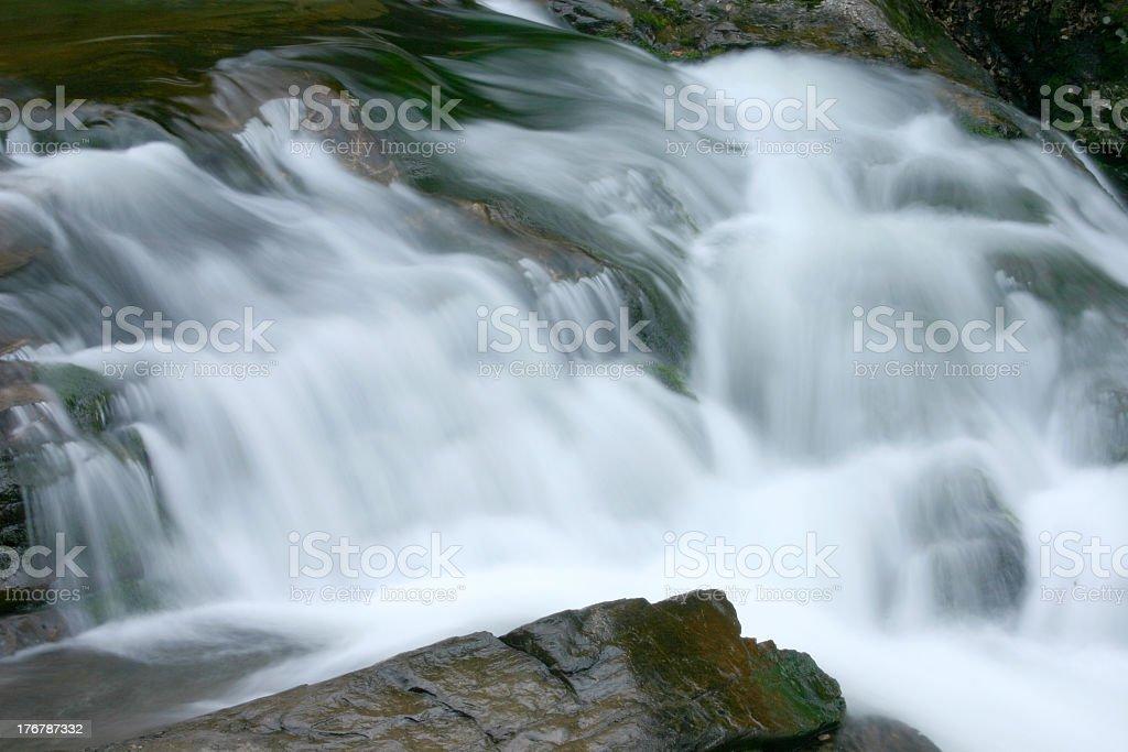 Waterfall near Cades Cove royalty-free stock photo